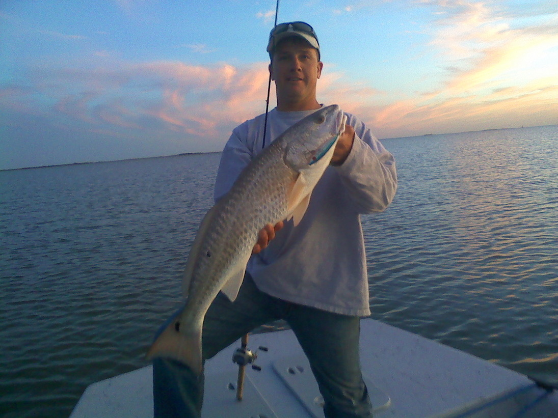 Galveston Fishing Guide - Captain Greg Verm