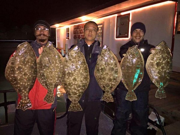 Texas Flounder Gigging