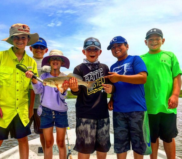 Galveston Fishing Camp for Kids