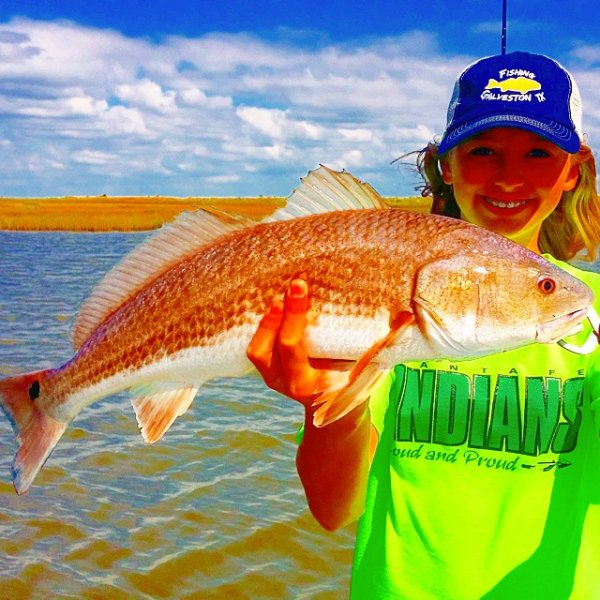Gavleston Redfish Guides