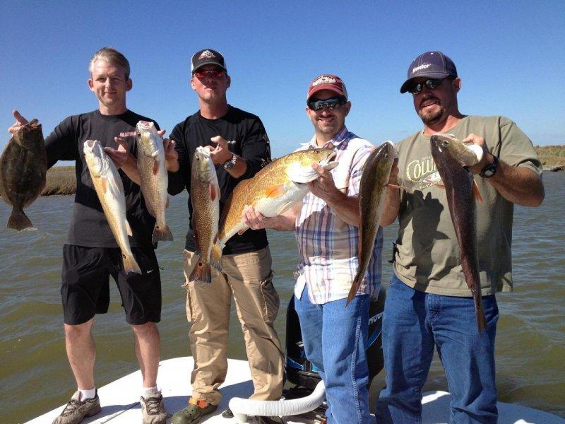 Galveston redfish charters