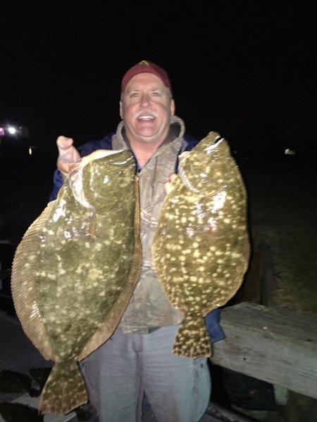 Galveston Flounder Gigging Report