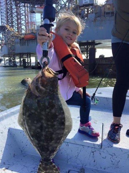 December Fishing in Galveston