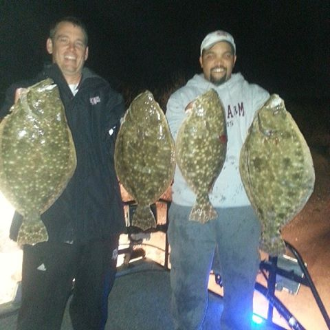 Galveston flounder gigging