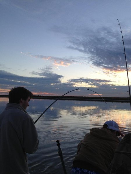 Flounder Gigging and Galveston Fishing Charter