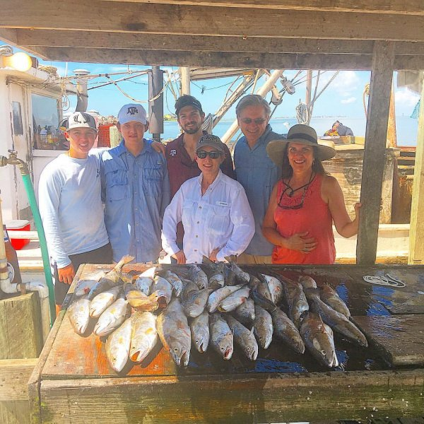 Galveston Speckled Trout Fishing