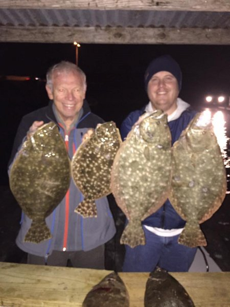 Galveston Flounder Gigging Charters