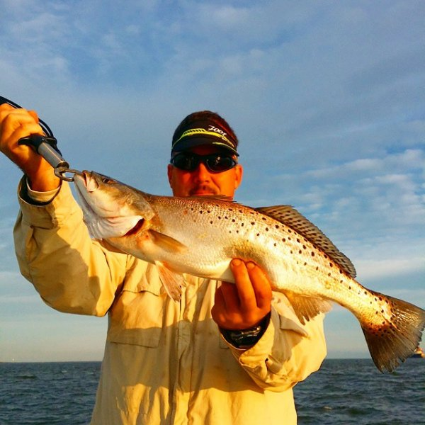 Galveston Speckled Trout Guides