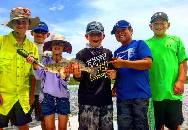 2017 Kids Galveston Summer Fishing Camps
