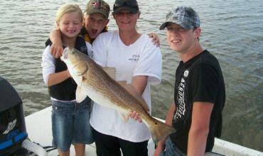 Family Fishing in Galveston