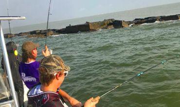 Galveston Spring Break Fishing 2019