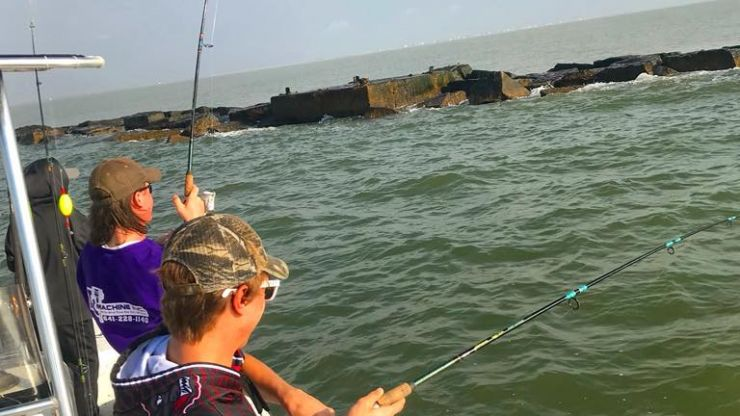 Galveston Spring Break Fishing 2019