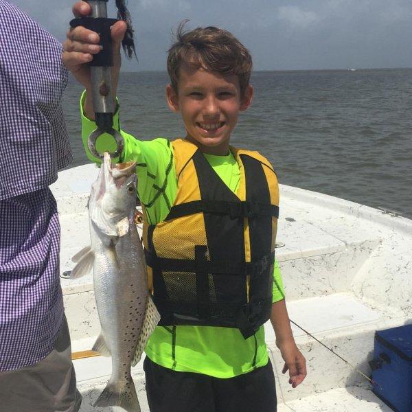 Galveston Kid Friendly Fishing