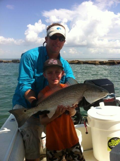 Galveston Fishing Charters - Redfish