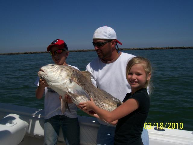 Galveston Kids Fishing