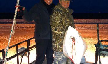 Galveston Flounder Gigging Charters – Fall on The Texas Gulf Coast