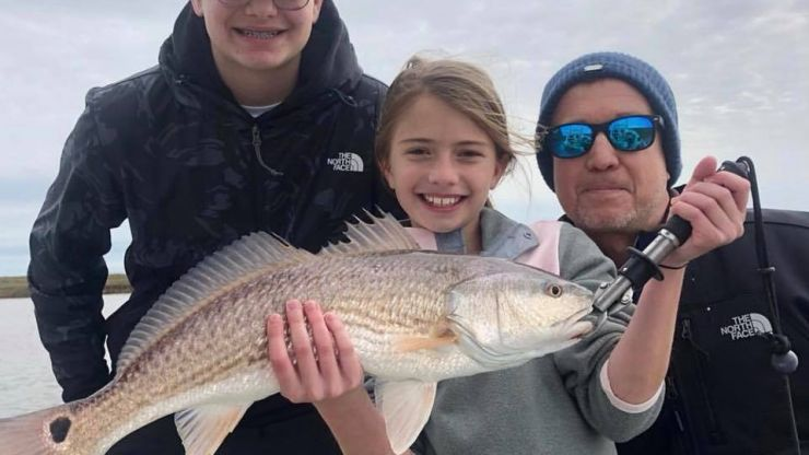 Galveston Fishing Report – Wintertime Fun on the Upper Texas Gulf Coast